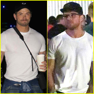 Kellan Lutz & Ryan Phillippe Show Off Their Muscles at Coachella!