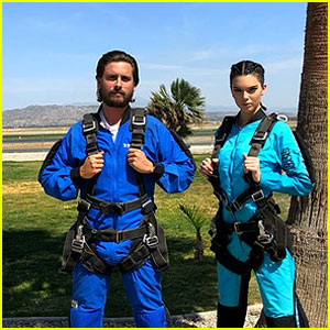 Kendall Jenner & Scott Disick Go Skydiving After Her Sofia Richie Shade