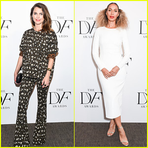Keri Russell & Leona Lewis Honor the Winners at DVF Awards