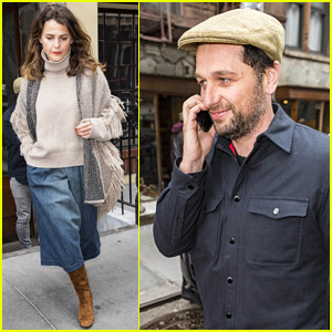 Keri Russell & Matthew Rhys Step Out for Lunch in NYC