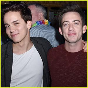 Glee's Kevin McHale Skips Coachella to Cuddle with Austin McKenzie
