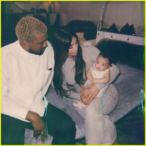 Kim Kardashian Shares Adorable Photo With Kanye West & Baby Chicago West!