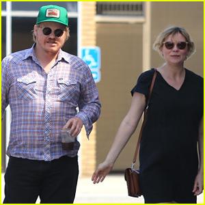 Kirsten Dunst & Fiance Jesse Plemons Grab Lunch in WeHo