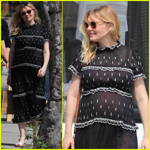 Kirsten Dunst Picks Up Some Baby Items on a Shopping Trip!