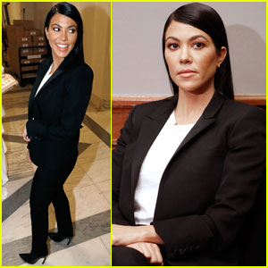 Kourtney Kardashian Talks Cosmetics With Congress in Washington D.C.