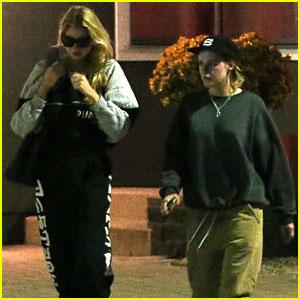 Kristen Stewart & Girlfriend Stella Maxwell Sweat It Out at Shape House