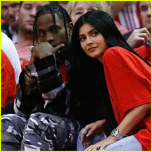Kylie Jenner & Travis Scott Celebrate Stormi's First Easter at Kris Jenner's House