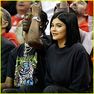 Kylie Jenner & Travis Scott Make It a Court Side Date Night!