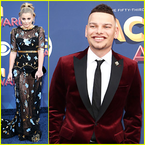 Lauren Alaina & Kane Brown Walk ACM Awards Carpet Ahead of Performance