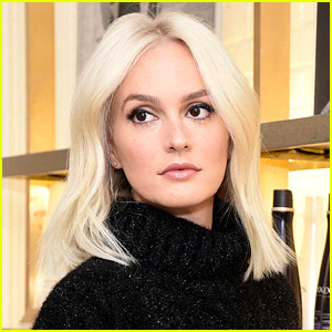 Leighton Meester Dyes Hair Platinum Blonde!