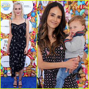 Leighton Meester Joins Jordana Brewster at We All Play Fundraiser!