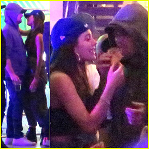 Leonardo DiCaprio & Rumored Girlfriend Camila Morrone Get Cozy at Coachella