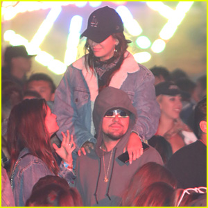 Leonardo DiCaprio Keeps a Low Profile at Coachella