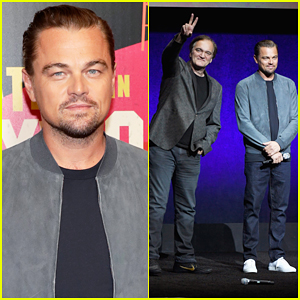 Leonardo DiCaprio & Quentin Tarantino Tease 'Once Upon a Time in Hollywood' at CinemaCon 2018!