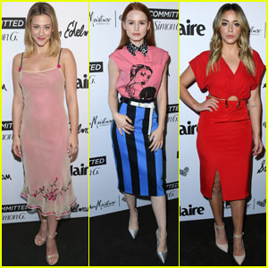 Lili Reinhart, Madelaine Petsch & Chloe Bennet Step Out at 'Marie Claire' Fresh Faces Party!