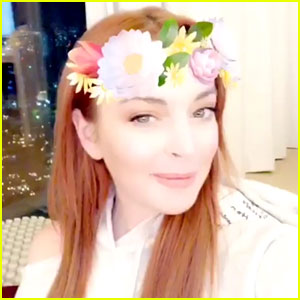 Lindsay Lohan Is Heading to Harvard, She Says on April Fool's Day