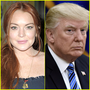 Lindsay Lohan Offers Up Legal Help to Donald Trump