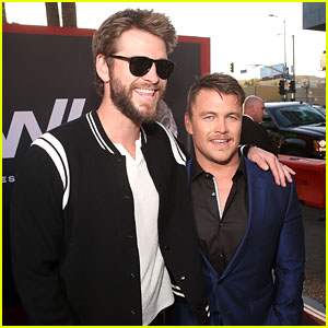 Luke & Liam Hemsworth Hit the Red Carpet Together at the 'Westworld' Season 2 Premiere!