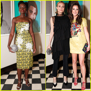 Lupita Nyong'o & Diane Kruger Celebrate Stylist Micaela Erlanger's New Book!