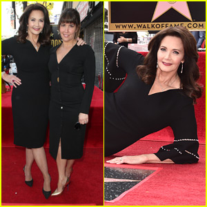 Lynda Carter Honored with Star on Hollywood Walk of Fame!