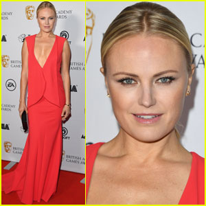 Malin Akerman Steps Out At British Academy Game Awards!