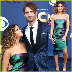 Maren Morris & New Husband Ryan Hurd Couple Up at ACM Awards 2018!