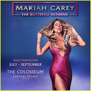 Mariah Carey Announces New Las Vegas Residency, 'The Butterfly Returns'!