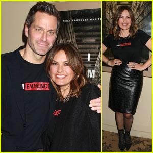 Mariska Hargitay & Husband Peter Hermann Attend 'I Am Evidence' Screening in NYC!
