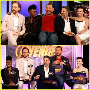 Mark Ruffalo, Scarlett Johansson, Tom Hiddleston & More Play 'Guess the Avenger' on 'Jimmy Kimmel Live'!