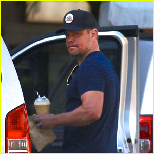 Matt Damon Steps Out for a Day of Shopping With His Family in Australia!