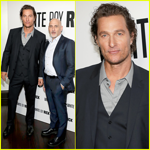 Matthew McConaughey Gives First Look of 'White Boy Rick' at CinemaCon 2018!