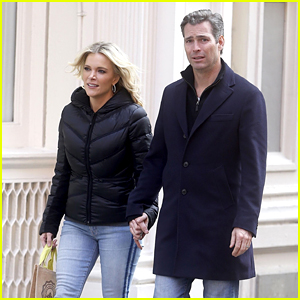 Megyn Kelly & Husband Douglas Brunt Step Out to Go Shopping in New York City
