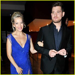 Michael Buble Supports Pregnant Wife Luisana Lopilato at 'Perdidas' Premiere!