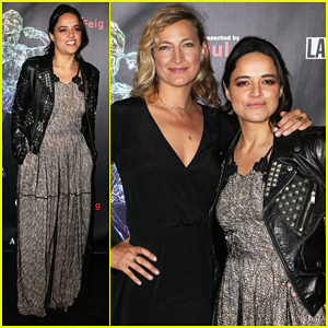 Michelle Rodriguez Gets Honored at Artemis Awards Gala 2018!