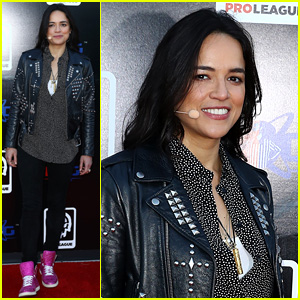 Michelle Rodriguez Promotes Twin Galaxies H1Z1 Pro League Opening!