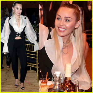 Miley Cyrus Attends My Friend's Place Charity Gala in LA