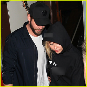 Miley Cyrus & Liam Hemsworth Attend the Noah Cyrus Concert in West Hollywood!
