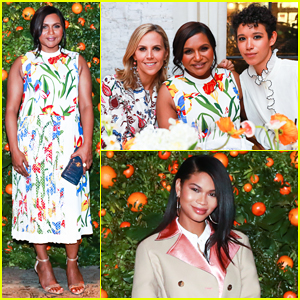 Mindy Kaling & More Celebrate Tory Burch's New Fragrance, 'Just Like Heaven'