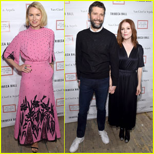 Naomi Watts & Julianne Moore Get Glam For TriBeCa Ball 2018!