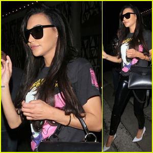 Naya Rivera Goes Rocker Chic While Out to Dinner in West Hollywood!