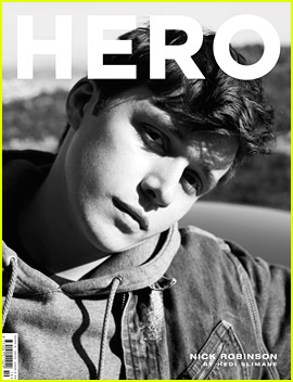 Nick Robinson Is Hedi Slimane's Muse for 'Hero' Cover