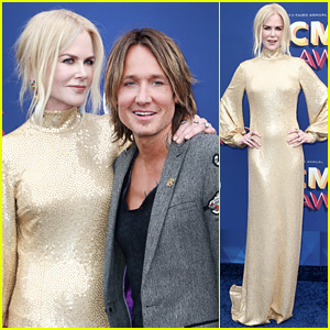 Nicole Kidman Supports Keith Urban at ACM Awards 2018!