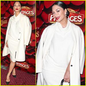 Nicole Scherzinger Celebrates 'The Phantom of the Opera' Sequel Opening Night!