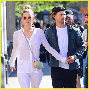 Nina Agdal & Boyfriend Jack Brinkley-Cook Head Out for a Brunch Date in NYC!