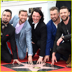 *NSYNC Reunites to Unveil Star on Hollywood Walk of Fame