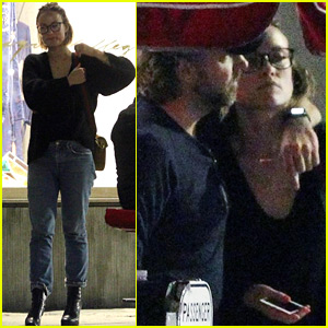 Olivia Wilde & Jason Sudeikis Pack on the PDA During Date Night!