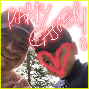 Orlando Bloom Shares Easter Photos with His Son Flynn!