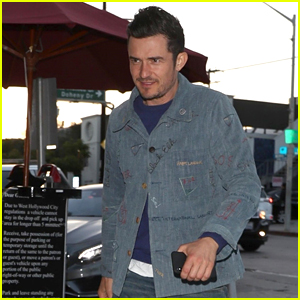 Orlando Bloom Heads Out for an Early Dinner at Craig's!