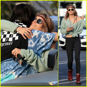 Paris Jackson Looks Chic While Stepping Out to Lunch With Gary Oldman's Son Charlie!