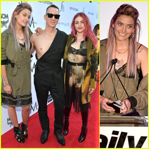 Paris Jackson & Frances Bean Cobain Join Jeremy Scott at Daily Front Row Awards 2018!